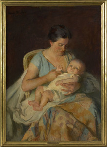 Marie Danforth Page(American, 1869-1940), oil on c