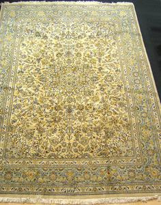 Roomsize Tabriz rug, ca. 1960, 13'3