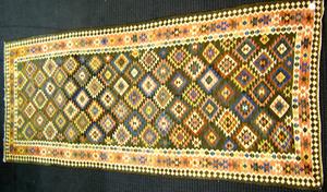 Kilim long rug, 11'10