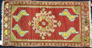 Four oriental mats, largest - 6'3