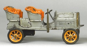 Bing painted tin roadster, early 20th c., 11