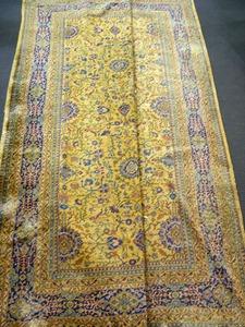 Roomsize rug, mid 20th c.(losses).