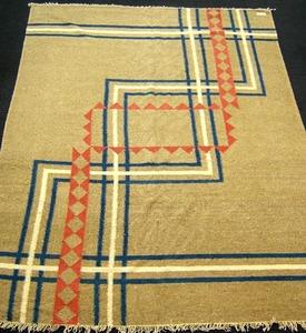 Roomsize jute rug, 8'10
