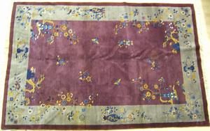 Chinese rug, ca. 1950, 8'10