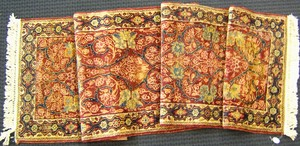 Sarouk runner, ca. 1930, with floral design on a r