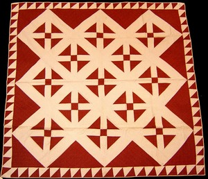 York County, Pennsylvania applique quilt, early 20