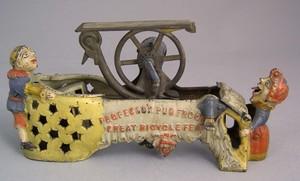 Mother Goose Circus, Professor Pug Frog mechanical