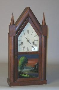 E.O. Goodwin Connecticut steeple clock, 19th c., 1