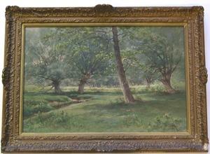 Carl Phillip Weber(American, 1850-1921) - Watercol