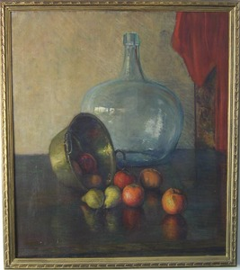 Harry Brick(American, early 20th c.) - Oil on canv