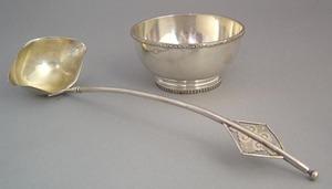 New York silver bowl, ca. 1834, by Garret, Eoff &o