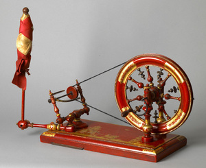 Extremely rare Queen Anne thread winder, ca. 1700,