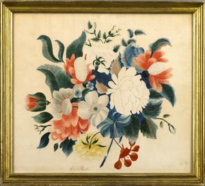 Sarah Ann Henshaw Ward(American, b. 1809) - Vibran