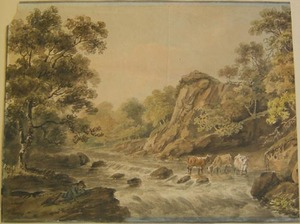 Nicholas Pocock, attributed(British, 1740-1821) -a