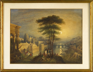 John Edwin Oldfield(British, d. 1854) - Watercolor