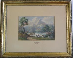 John Varley, attributed(British, 1778-1842) - Wate