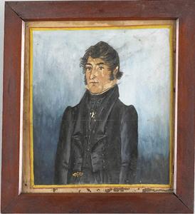 Jacob Maentel(American, 1763-1863) - Watercolor on