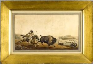 Peter Rindisbacher(American, 1806-1834) - Watercol
