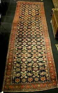Kurdistan long rug, ca. 1915, with repeating styli