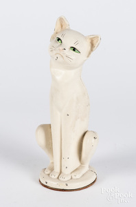 Hubley cast iron cat doorstop, 10