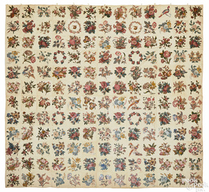 New Jersey Broderie Perse quilt