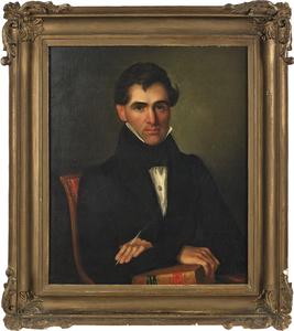 John F. Francis (American 1808-1886), pair of oiln