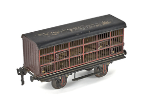 Marklin poultry car, 1 gauge, no. 8811, 4 3/4