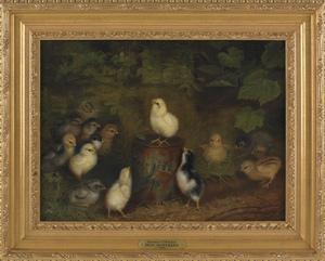 Ben Austrian (American 1870-1921), oil on canvas o
