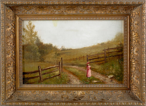Frederick A. Spang (American 1834-1891), oil on ca