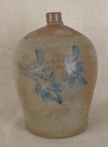 Pennsylvania four-gallon stoneware jug, 19th c., i