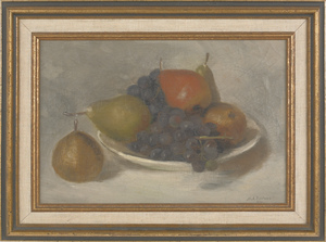 M. A. Bostwick (American 19th c.), oil on canvas s