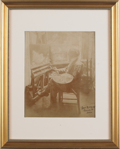 Two Ben Austrian signed photographs, early 20th c.