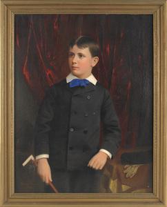 Matthew Wilson (American 1814-1892), oil on canvas