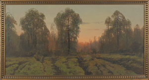 Victor Korecki (Polish 1890-1980), oil on canvas l