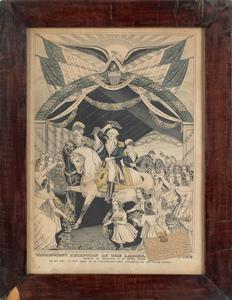 Kellog and Thayer lithograph Washington Crossing t