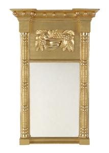 Federal giltwood mirror, ca. 1815, 31