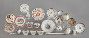 Collection of English ceramics, to include creamwa