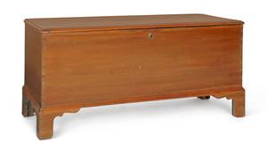 Pennsylvania poplar blanket chest, early 19th c.,2