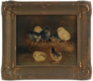 Ben Austrian (American, 1870-1921), oil on canvase