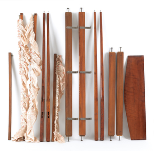 Maple pencil post bed, 80