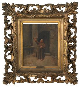 Cristobal de Antonio (Spanish, b. 1870), oil on pa