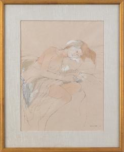 Elizabeth C. Osborne (American, b. 1936), ink anda