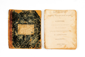 Virginia plantation account book, pub. 1852 for th