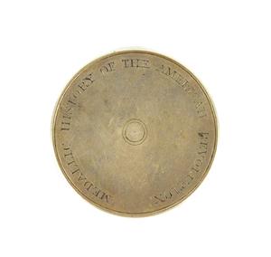 Rare History of the American Revolution silver med