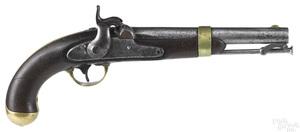 US model 1842 Johnson percussion pistol