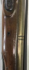 British brass barreled percussion blunderbuss