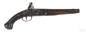 European flintlock horse pistol