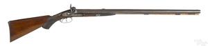 Double barrel percussion rifle