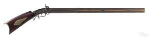 Heavy swivel breech percussion rifle