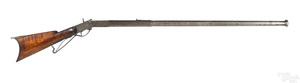 Unusual custom made antique target rifle